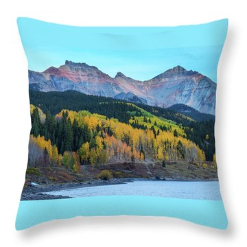 Throw Pillow featuring the photograph Mountain Trout Lake Wonder by James BO Insogna
