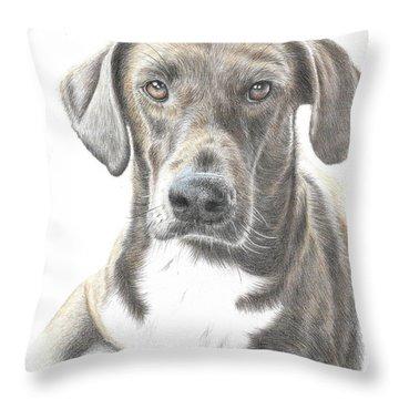 Mousse #2 Throw Pillow