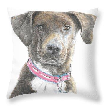 Mousse Throw Pillow