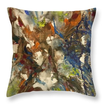 Moving Stage Throw Pillow