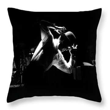 Mr. Bo Jangles Throw Pillow