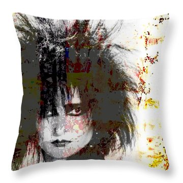 Mrs S Throw Pillow