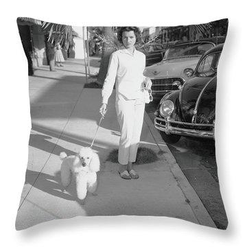 Pedal Car Throw Pillows