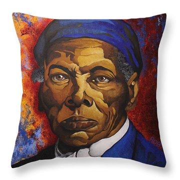 Ms. Tubman Throw Pillow