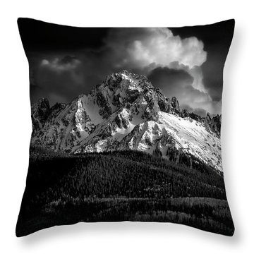 Mt Sneffels Drama Throw Pillow
