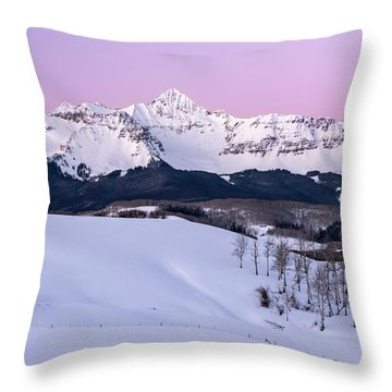 Mt Wilson Throw Pillow
