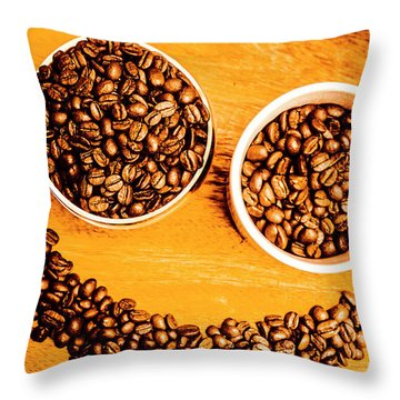 Mug Shot Throw Pillow
