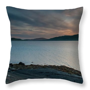 Mull Sunset Throw Pillow