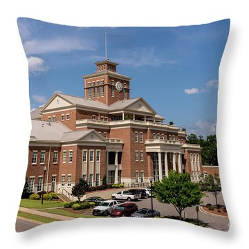 Municipal Building - North Augusta Sc Throw Pillow