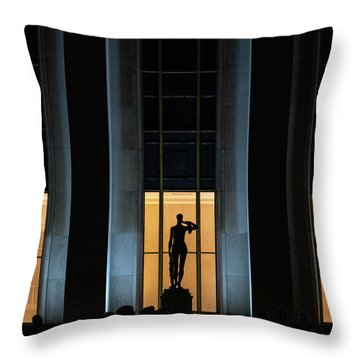 Throw Pillow featuring the photograph Musee National De La Marine by Randy Scherkenbach