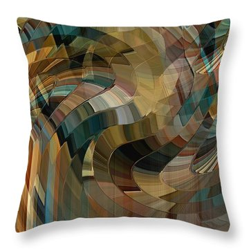 Mushrooms Forever Throw Pillow