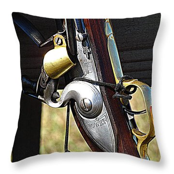 Musket Throw Pillow