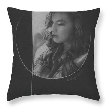 Muted Shadow No. 5 Throw Pillow
