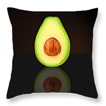 My Avocado Dream Throw Pillow