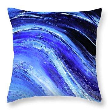 My Blue Ocean Throw Pillow