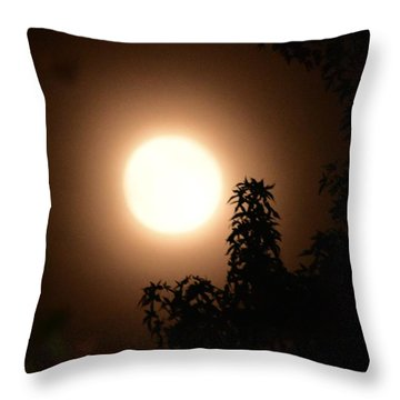 My Hunters Moon Throw Pillow