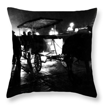My Ride Throw Pillow