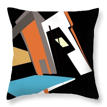 My World In Abstraction Throw Pillow