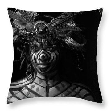Mystery #45 And 72 Throw Pillow
