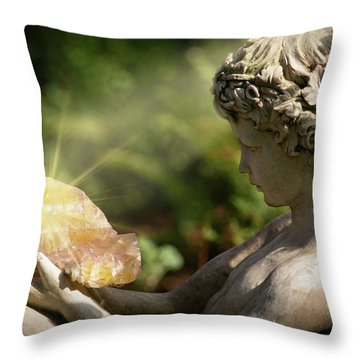 Throw Pillow featuring the photograph Mystical Enchantment by Dale Kincaid