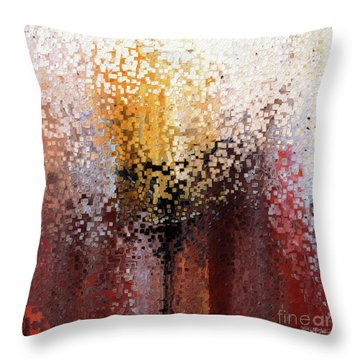 Nahum 1 7. A Stronghold Throw Pillow