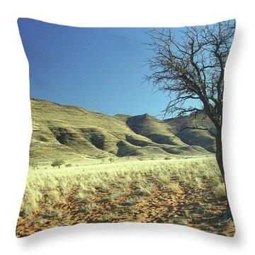 Namibia Throw Pillow