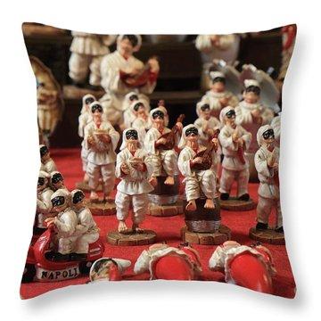 Napoli Throw Pillow
