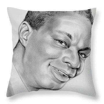 Nat King Cole Throw Pillow