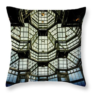 Glass Ceiling National Gallery Of Canada Throw Pillow