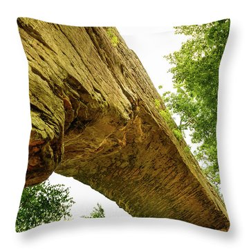Natural Bridge 4 Throw Pillow