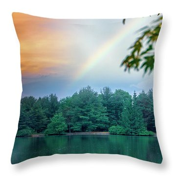 Natural Composites Throw Pillow