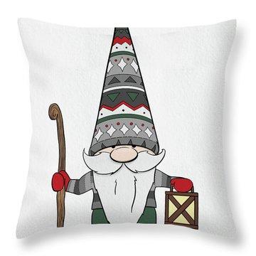Gnomes Throw Pillows