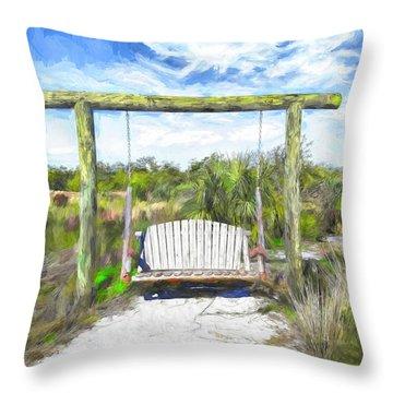 Nature Swing Throw Pillow
