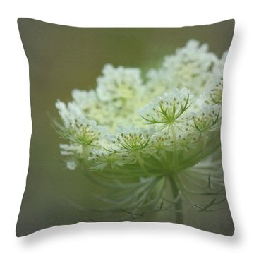 Nature's Lace Throw Pillow