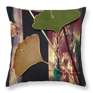 Natures Light Throw Pillow