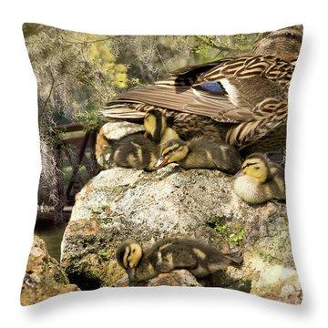 Natures Masterpiece Throw Pillow