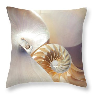 Throw Pillow featuring the photograph Nautilus 0454 by Mark Shoolery