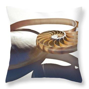 Nautilus 0469 Throw Pillow