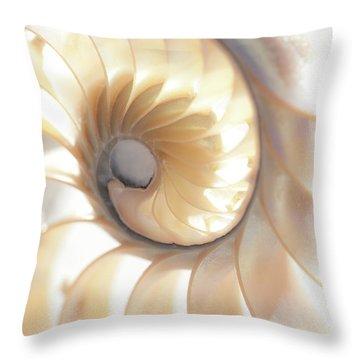 Nautilus 0472 Throw Pillow