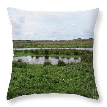 Near De Muy On Texel Throw Pillow