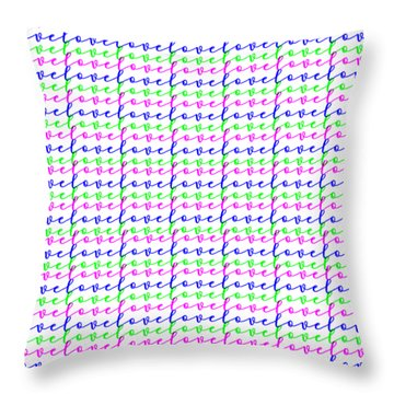 Throw Pillow featuring the digital art Neverending Love by Bee-Bee Deigner