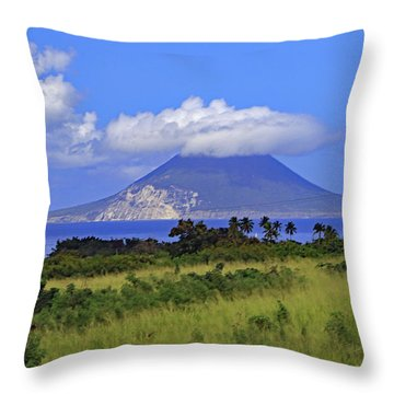 Throw Pillow featuring the photograph Nevis by Tony Murtagh