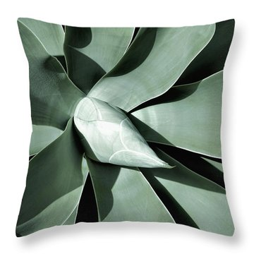 Throw Pillow featuring the photograph New Growth I by Leda Robertson