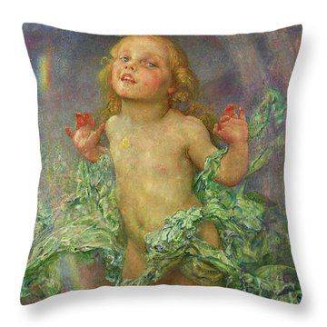 New Risen Hope Throw Pillow