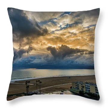 New Sky After The Rain Throw Pillow