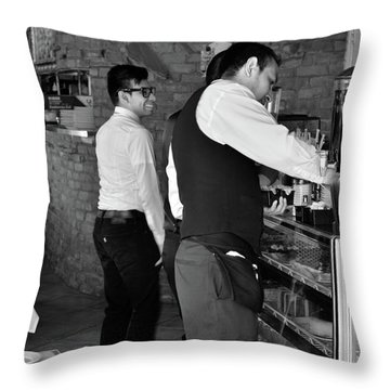 Throw Pillow featuring the photograph New York, New York 18 by Ron Cline