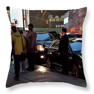 Throw Pillow featuring the photograph New York, New York 29 by Ron Cline