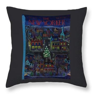 New Yorker December 15, 1951 Throw Pillow
