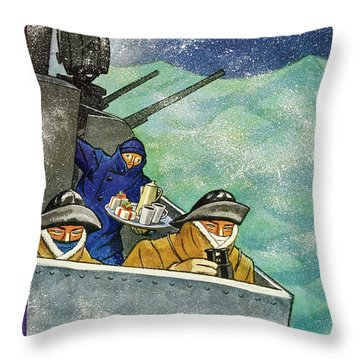 New Yorker December 26th 1942 Throw Pillow