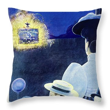 New Yorker July 6th 1946 Throw Pillow